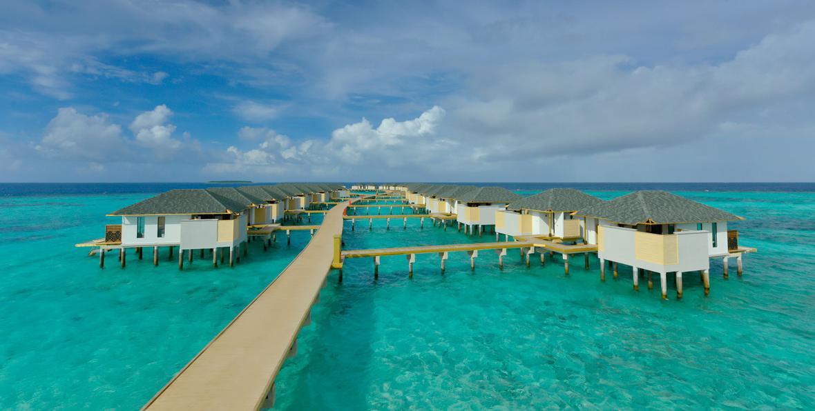 Amari havodda 5 estrellas isla de gaafu dhaalu maldivas for Islas maldivas hoteles en el agua