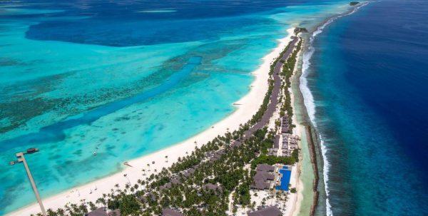 Foto aerea de Atmosphere Kanifushi Maldives
