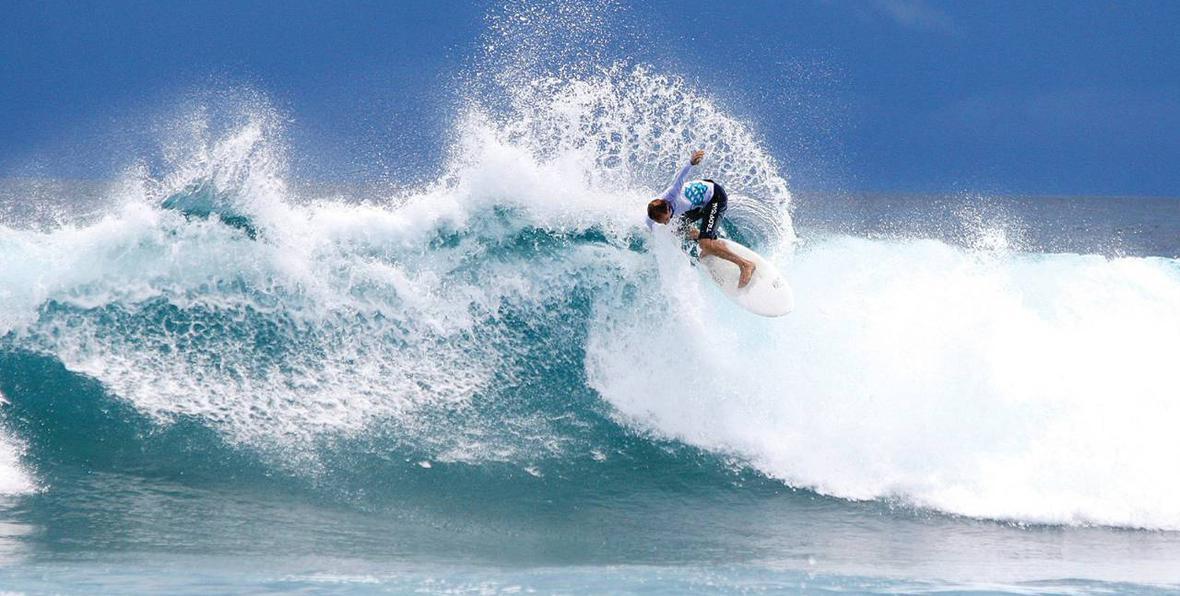 vacanze di surf alle Maldive