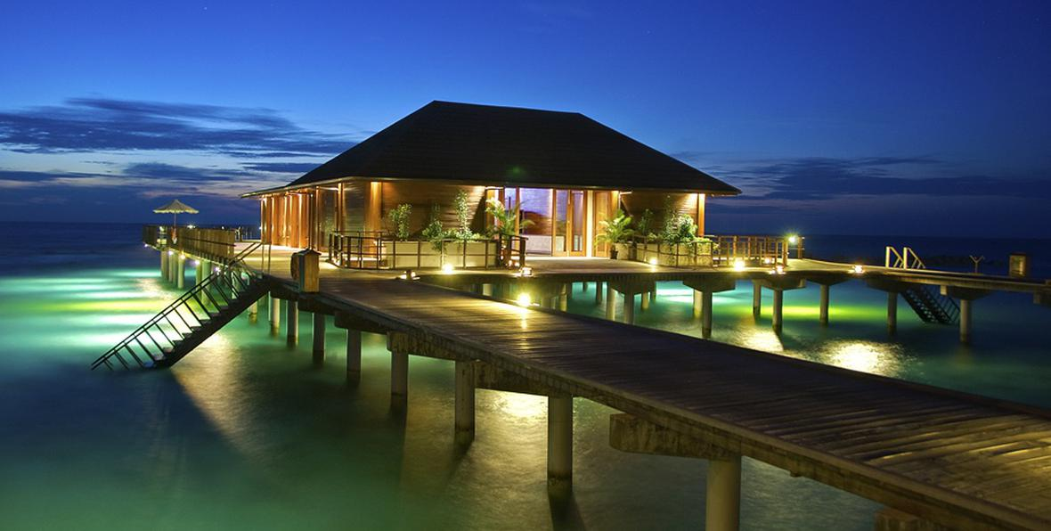 Resort Paradise Island In Maldives Country Maldives Country