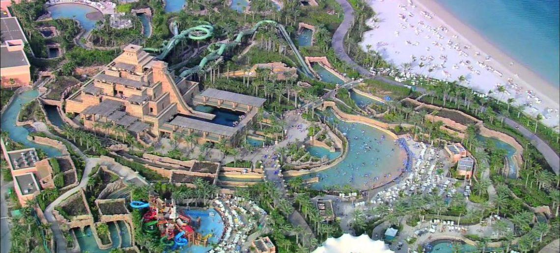 Parque acuático Aquaventure y Atlantis